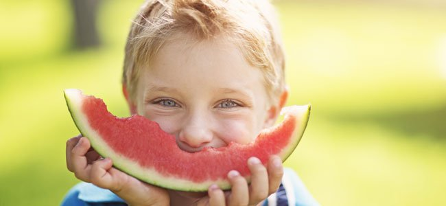 Curiosidades sobre alimentación para alimentar niños en verano.