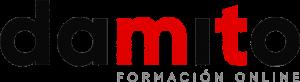 Logo en color de Damito