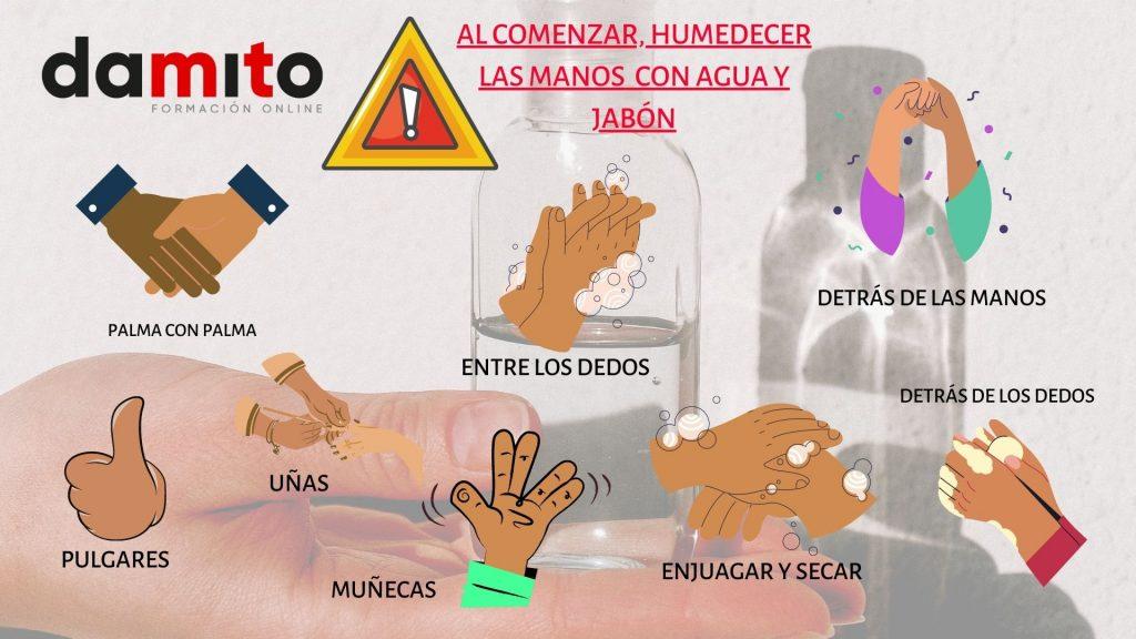 Técnica Adecuada del Lavado de manos