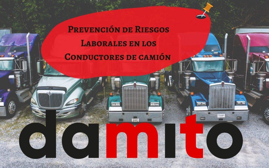 Prevención de Riesgos laborales en los Conductores de camión